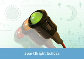 SparkBright Eclipse 8mm/10mm Battery Voltage Monitor