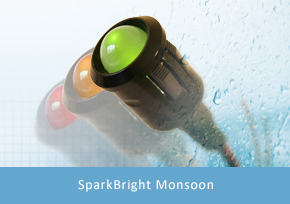 SparkBright Monsoon 8mm/10mm Battery Voltage Monitor